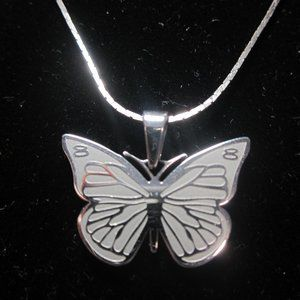Inspirational Butterfly Necklace